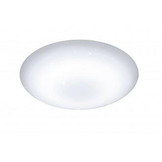 WOFI 955501066000   Minor Wofi stropne svjetiljke svjetiljka okrugli daljinski upravljač jačina svjetlosti se može podešavati, sa podešavanjem temperature boje 1x LED 2500lm 2800 <-> 6000K bijelo, učinak kristala