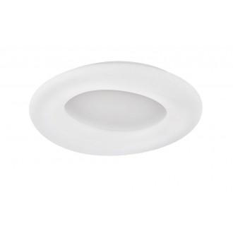 WOFI 9935.01.06.8910 | County-WO Wofi stropne svjetiljke svjetiljka daljinski upravljač jačina svjetlosti se može podešavati, sa podešavanjem temperature boje 1x LED 8800lm 3000 <-> 6800K bijelo