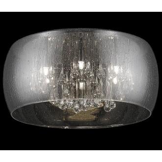 ZUMA LINE C0076-05L-F4K9 | RainZL Zuma Line stropne svjetiljke svjetiljka okrugli 5x G9 dim, prozirno