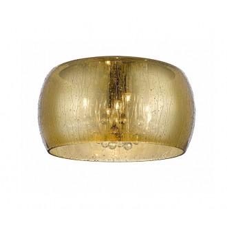 ZUMA LINE C0076-05L-F4L9   RainZL Zuma Line stropne svjetiljke svjetiljka okrugli 5x G9 zlatno, prozirna, prozirno