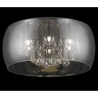 ZUMA LINE C0076-06X-F4K9 | RainZL Zuma Line stropne svjetiljke svjetiljka okrugli 6x G9 dim, prozirno