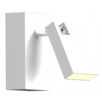 ZUMA LINE CK99603A-1 | Spazio Zuma Line spot svjetiljka elementi koji se mogu okretati 1x LED 400lm 3000K bijelo mat
