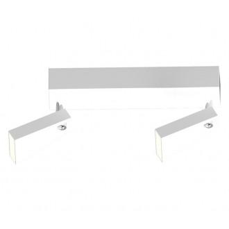 ZUMA LINE CK99603A-2 | Spazio Zuma Line spot svjetiljka elementi koji se mogu okretati 2x LED 800lm 3000K bijelo mat