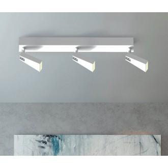 ZUMA LINE CK99603A-3 | Spazio Zuma Line spot svjetiljka elementi koji se mogu okretati 3x LED 1200lm 3000K bijelo mat