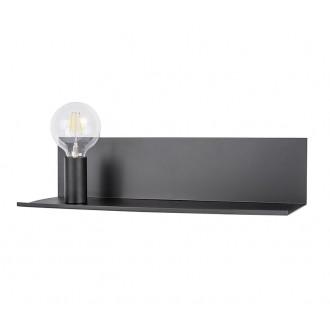 ZUMA LINE CS-W088L-BK | ShelfZL Zuma Line zidna svjetiljka 1x E27 crno