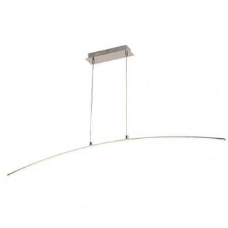 ZUMA LINE L99832-1 | Pista Zuma Line visilice svjetiljka lučni s mogućnošću skraćivanja kabla 1x LED 800lm 3000K krom