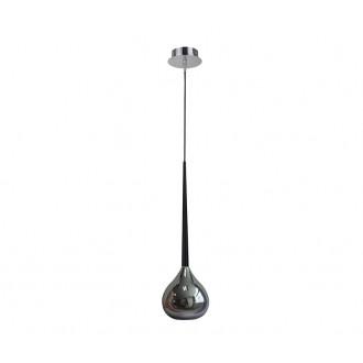 ZUMA LINE MD2128-1S | LibraZL Zuma Line visilice svjetiljka kapsula 1x E14 krom, crno, srebrno