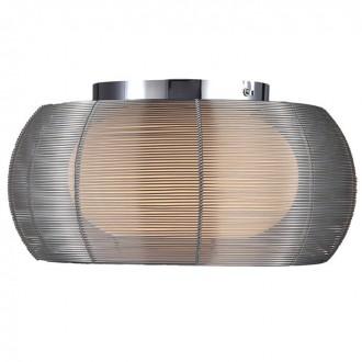 ZUMA LINE MX1104-2LSL | Tango Zuma Line stropne svjetiljke svjetiljka okrugli 2x E27 krom, srebrno, opal