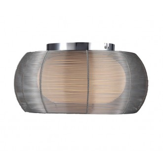 ZUMA LINE MX1104-2SL | Tango Zuma Line stropne svjetiljke svjetiljka okrugli 2x E27 krom, srebrno, opal