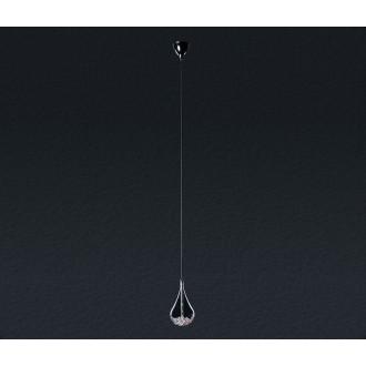 ZUMA LINE P0226-01A | Perle Zuma Line visilice svjetiljka s mogućnošću skraćivanja kabla 1x G4 krom, prozirno
