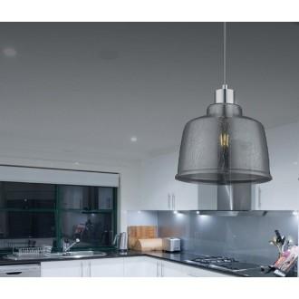 ZUMA LINE P0383-01A | IvoZL Zuma Line visilice svjetiljka 1x E27 krom, dim