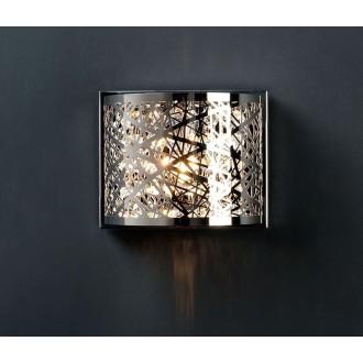 ZUMA LINE W0066-01A | BellaZL Zuma Line zidna svjetiljka 1x G9 krom, kristal