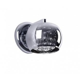 ZUMA LINE W0076-01D   CrystalZL Zuma Line zidna svjetiljka okrugli 1x G9 krom, dim, prozirno