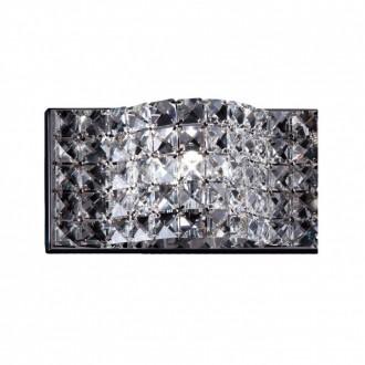 ZUMA LINE W0246-01A-CL | Jasmine Zuma Line zidna svjetiljka 1x G9 krom, prozirno