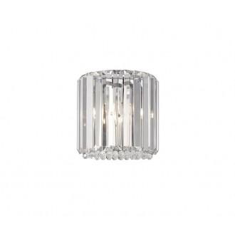 ZUMA LINE W0360-01A-B5AC | Prince Zuma Line zidna svjetiljka 1x G9 krom, prozirno